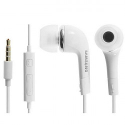 Auricular con micro Samsung blanco. MOD. EHS64AVFWE