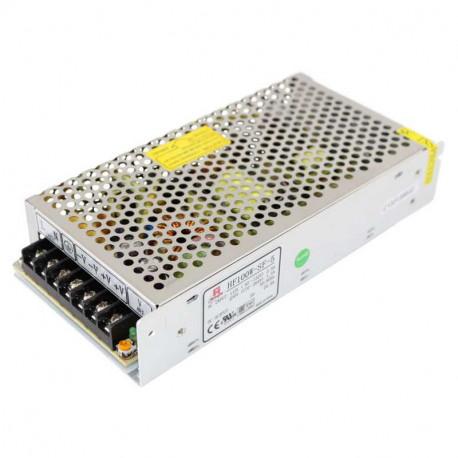 Fuente alimentación metálica 12V 8.3A 100W Basic. AC6109