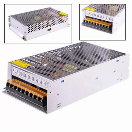 Fuente alimentación metálica 12V 20A 250W Basic. AC6117