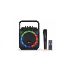 Altavoz portátil karaoke 35WRMS Fonestar. Mod. BOX-35LED