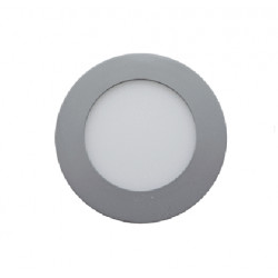 DOWNLIGHTS LED EMPOTRABLE 6W 480LM 6000K REDONDO CROMO MATE. Mod. 200630CW