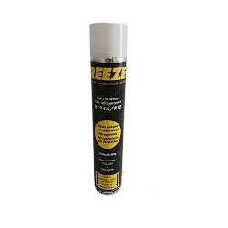 Botella gas refrigerante orgánico R12 R134a. Mod. FREEZE+12a
