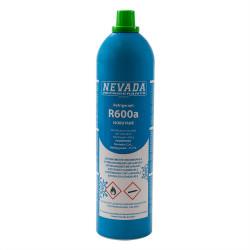 Botella gas refrigerante isobutano R600a 420 GR. Mod. R600A