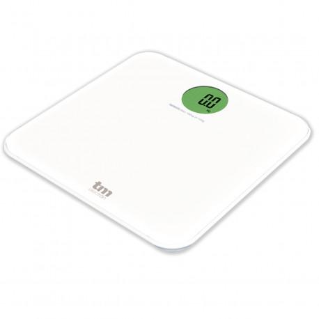 Báscula digital baño color blanco TM Electron. Mod. TMPBS030