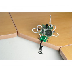 Soporte de brazos flexibles con pinzas, imán y lupa. Mod. HRV6622
