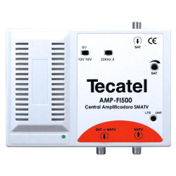 Amplificador FI Tecatel 35 dB 13/18V 0-22kHz LTE. Mod. AMP-FI500