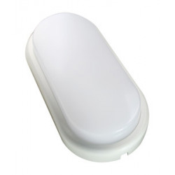 Aplique oval LED. IP65 12W 6500K. Mod. 81769/12/B