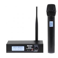 Sistema de micrófono inalámbrico 1x micro mano UHF. Mod. RM 30 UHF