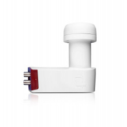 LNB Inverto Twin de cuello largo 40mm Red Extend 0.3 dB. Mod. LNB-IRETW