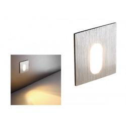 APLIQUE LED EMPOTRAR CUADRADO 3 W. MOD. NU-8918