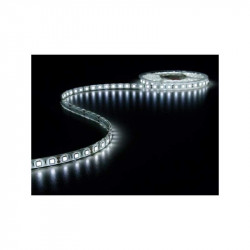 Tira de led flexible 5 metros SMD 5050 60 led / m Blanco Frío IP68. Mod. 5050F12VIP68