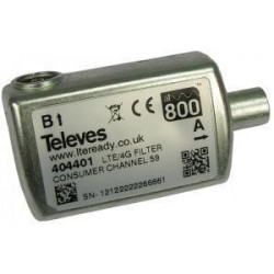 Filtro de LTE selectivo 774MHz Televes. Mod. 404411