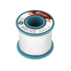 Cable rígido 0,5mm, cobre estañado, Blanco 25m. Mod. WIR1102
