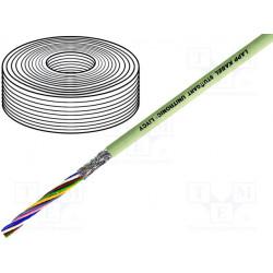 Cable UNITRONIC® LiYCY 4x0,25mm2 apantallado PVC gris 500V. Mod. LIYCY-4X0.25