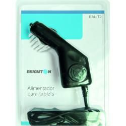 Cargador de automóvil para tablets Brigmton BAL-T2