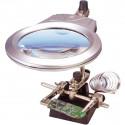 Robot Electrónica con Led y Soporte. Mod. 19101