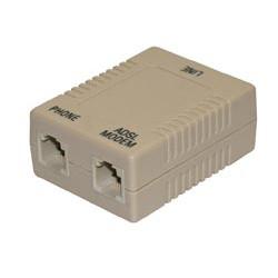 Adaptador Splitter línea ADSL Mod. 1236-A