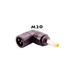 Adaptador alimentación ECO TIP 19V 120W 4.0x1.7x12mm HP. Mod. M20