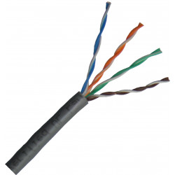 Cable de Red UTP Cat. 5e LSOH METRO. Mod. LAN001