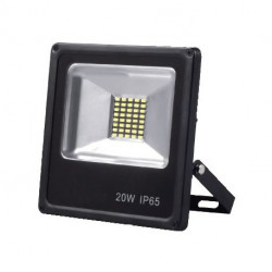 Proyector led 20W plano IP65 1800 lm 6000K. Mod. 562001CW