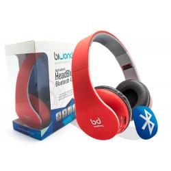 Auricular Bluetooth 4.0 Rojo Biwond. Mod. HeadBluexR