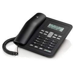 Teléfono sobremesa negro Motorola. Mod. CT320