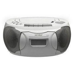 Reproductor de CD portátil blanco Denver. Mod. TCP39W