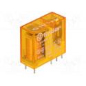 Relé standard 24Vca 1Cto. 16A 6 pin Finder. Mod. 40.61.8.024.0000