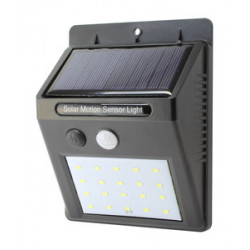 Mini aplique solar LED recargable de pared IP65 2W. Mod. 81.774/N