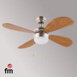 Ventilador de Techo 105CM 4 aspas 50W FM. Mod. VT105