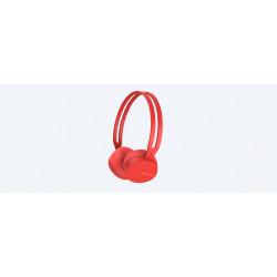 Auriculares inalámbricos Sony rojo. WH-CH400R