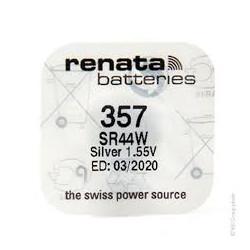 Pila Boton Oxido Plata renata 357 SR44W LR44