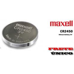 Pila Litio botón CR2450