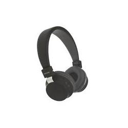 Auricular diadema Bluetooth negro Denver. Mod. BTH-205