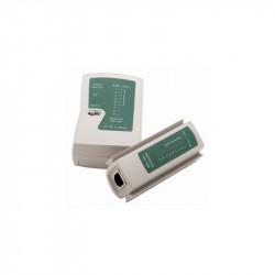 TESTER PARA CABLES RJ11 Y RJ45. Mod. TR30-00007