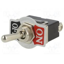 Conmutador de palanca TSP101AA1  SPST OFF-ON 10A/250VAC