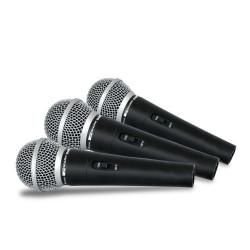 Maleta 3 micrófonos dinámicos MARK. Mod. DM44