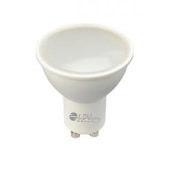 LAMPARA LED 8W GU10 660LM 120º 4500K Dimable. Mod. 2835680NWDIM