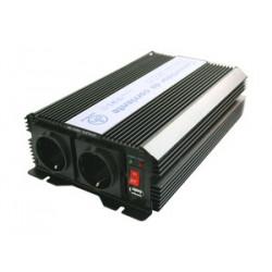 Convertidor de corriente 12VDC a 230VAC. 1500 W. Mod. 50.088