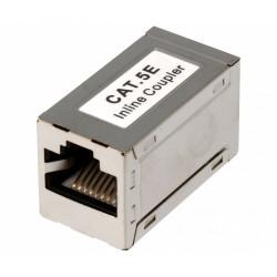 Adaptador inline coupler RJ45 CAT5E FTP H-H. Mod. CON928