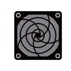 Rejilla para ventiladores con filtro 80x80. Mod. RJV010