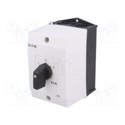 Conmutador interruptor reversible 3 posiciones 20A 1-0-2. Mod. T0-3-8401/I1