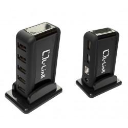Hub USB 7 puertos con alimentacion. Mod. LL-UH-707L