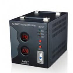 Regulador estabilizador tensíon automático 100-260V 3000VA. Mod. ASRAT3000. Mod. ASQDEO24
