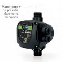 Interruptor de nivel PRESCONTROL para bomba agua c/ manómetro. Mod. VIIPMA