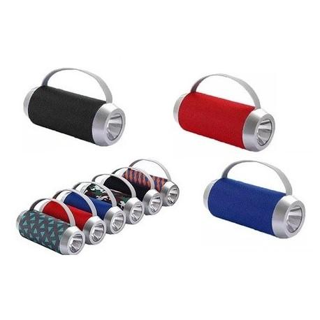 Altavoz portatil Bluetooth USB FM linterna. Mod. TG-501