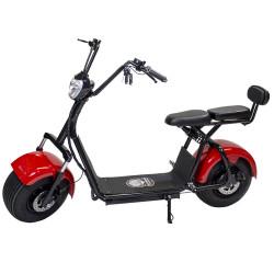 Moto Eléctrica Citycoco 1400W/12Ah Rojo/Negro Last Mille