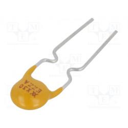 Fusible polímero PTC 300mA Ráster 5mm. Mod. RXEF030