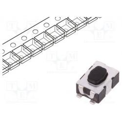 Microconmutador TACT SPST-NO Posiciones:2 0,05A/32VDC SMT. Mod. KMR241GLFS