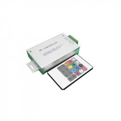 CONTROLADOR RGB CON MANDO DE RF 20 TECLAS 12 / 24v